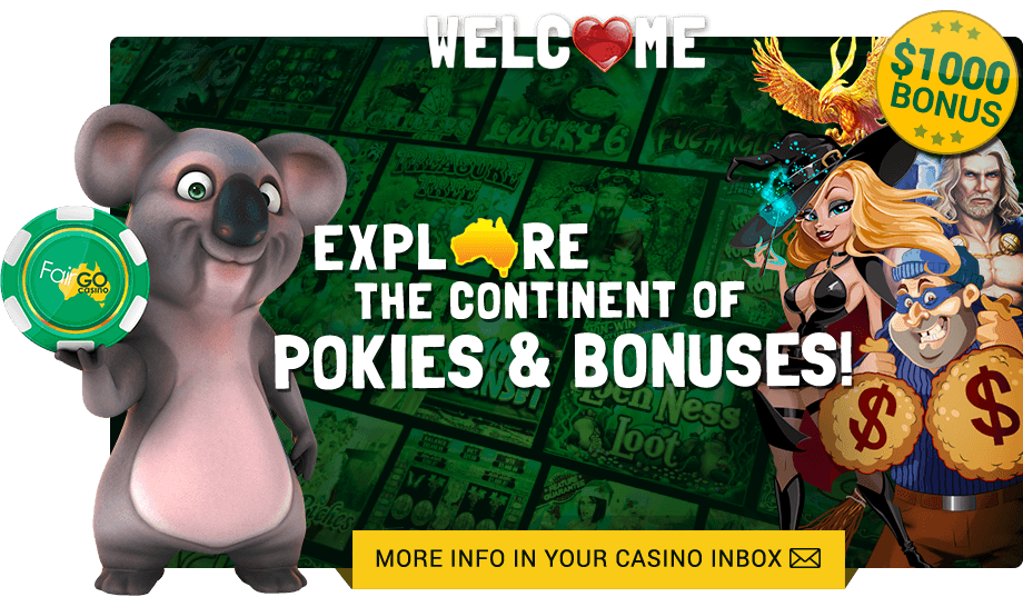 Fair Go Casino bonus